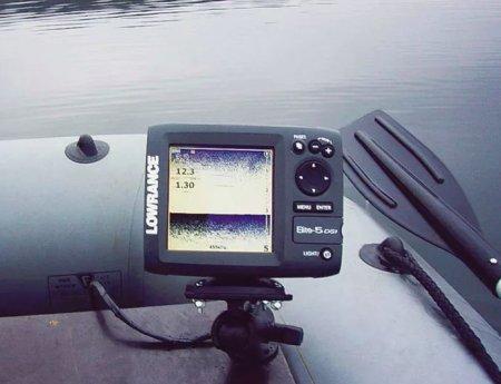 Как подобрать эхолот для рыбалки летом?