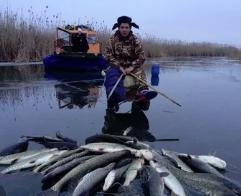 Осенняя рыбалка на зимние ставки